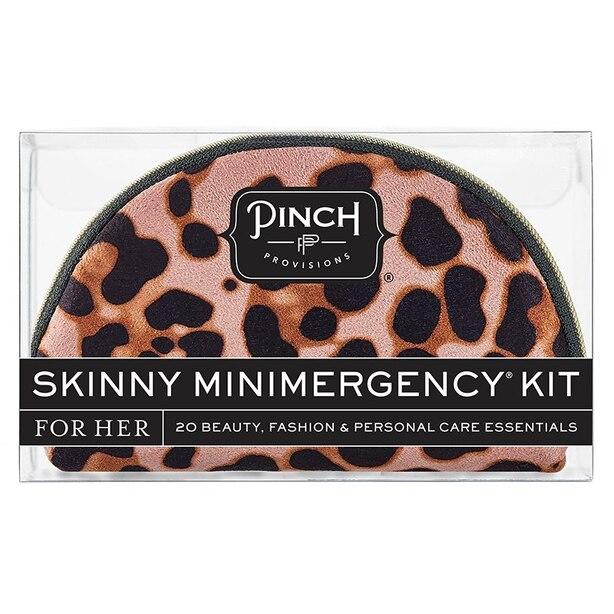 PINCH PROVISIONS SKINNY MINIMERGENCY KIT - BLUSH LEOPARD
