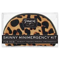 PINCH PROVISIONS SKINNY MINIMERGENCY KIT - TAN LEOPARD