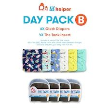 LIL HELPER CLOTH DIAPER SYSTEM-DAY PACK B