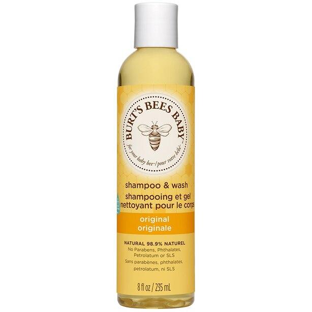 Burt's Bees Baby Shampoo and Body Wash - 235 ml