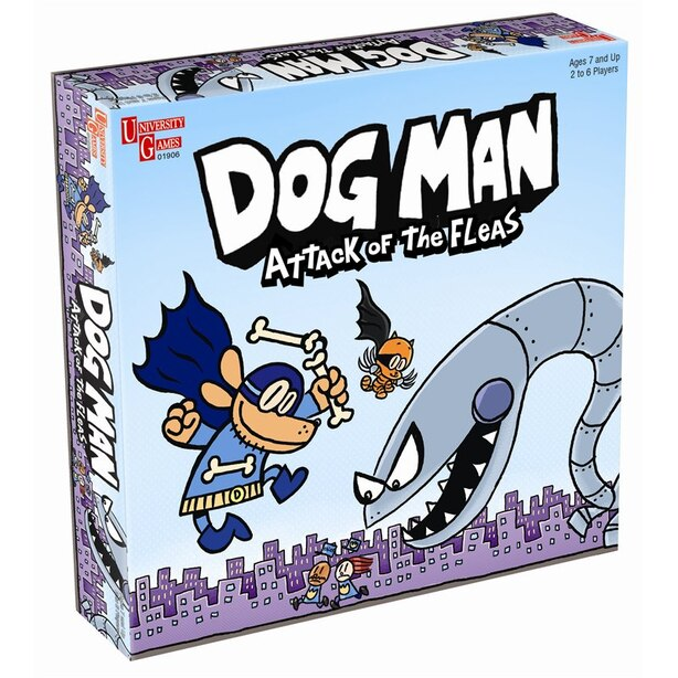 DOG MANAttack of the Fleas Game