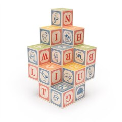 Uncle Goose Blocks - Classic ABC Blocks