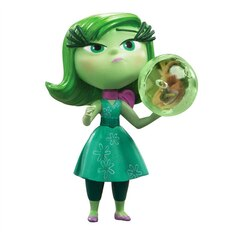 Disney Pixar Inside Out Movie - Disgust with Sphere Figure