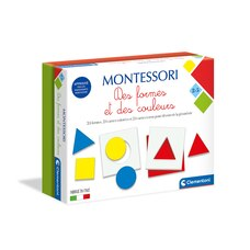 MONTESSORI- SHAPES AND COLORS (IN FRENCH)