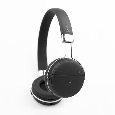 LOGiiX Base Wired & Wireless On the Ear Headphone - Black
