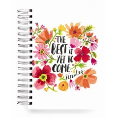 ecojot The Best Is Yet To Come Jumbo Spiral Journal