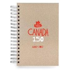 ecojot Canada 150 Jumbo Spiral Journal - Foil