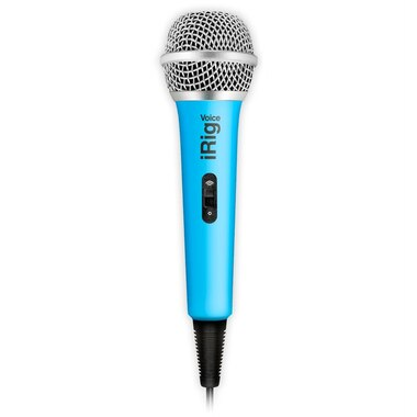 iRig Voice Microphone - Blue