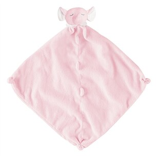 Pink Elephant Security Blankie