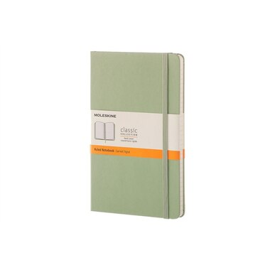 Moleskine Hard Cover Notebook Large Ruled Willow Green