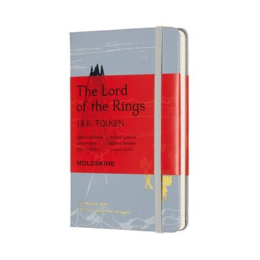 Moleskine Lord of the Rings Pocket Ruled Journal Blue Isengard