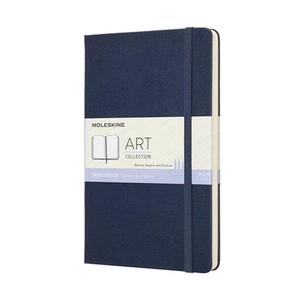 Moleskine Art Sketchbook Medium Sapphire Blue