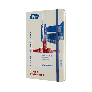 Moleskine Limited Edition Star Wars Large Ruled Journal X-Wing