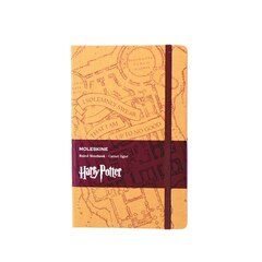 Moleskine Limited Edition Harry Potter Large Ruled Notebook - Marauder's Map