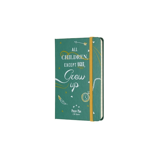 Moleskine Limited Edition Peter Pan Pocket Notebook Green