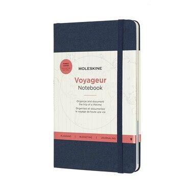 Moleskine Voyageur Notebook Ocean Blue