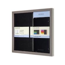 Moleskine Sketchbook Large Black Sketchbook with Watercolor Pencils
