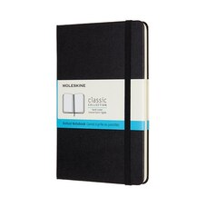 Moleskine Medium Classic Hardcover Journal Dotted Black