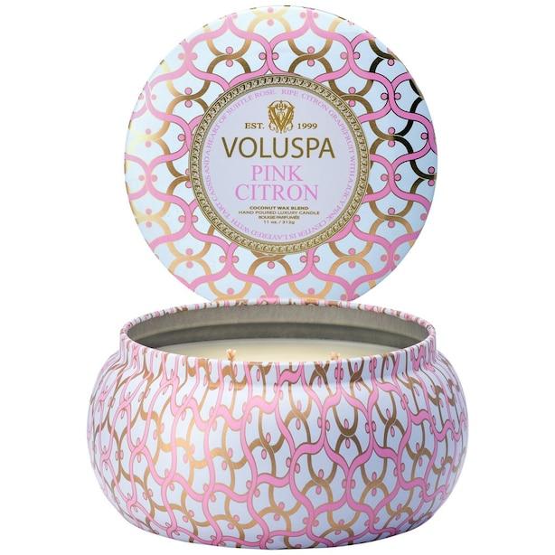 Voluspa® 2-Wick Tin Candle - Pink Citron