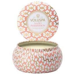 Voluspa® 2-Wick Tin Candle - Saijo Persimmon