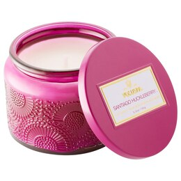 Voluspa® Small Glass Jar Candle - Santiago Huckleberry