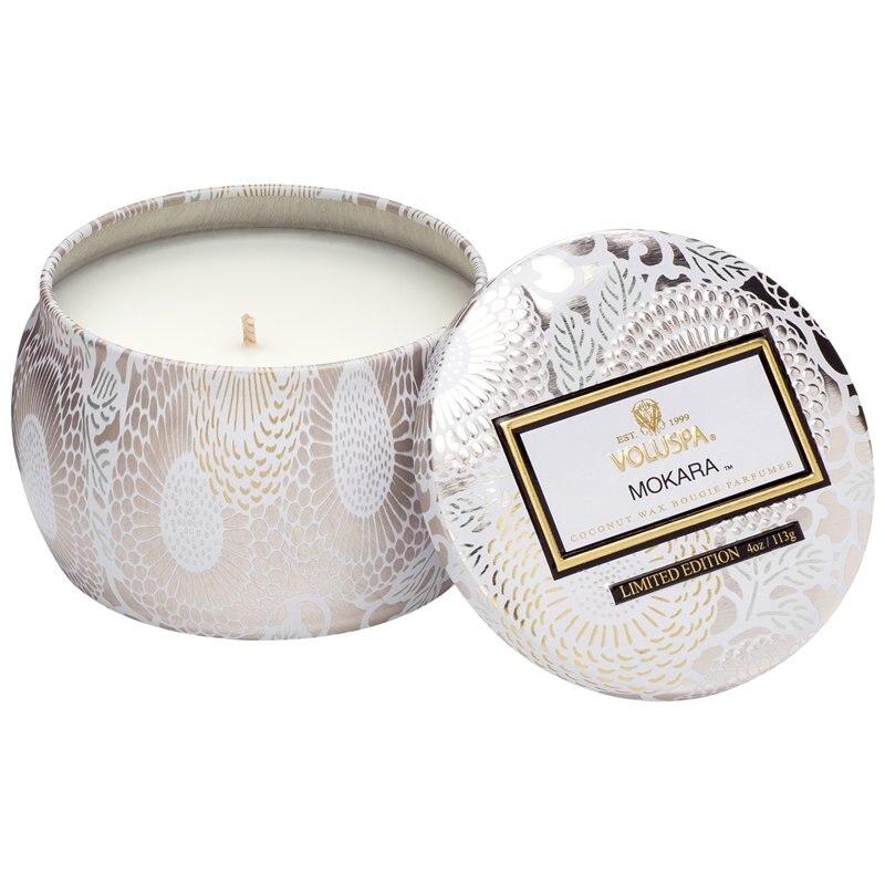 Voluspa Mini Decorative Tin Candle Mokara By Voluspa Gifts Www Chapters Indigo Ca