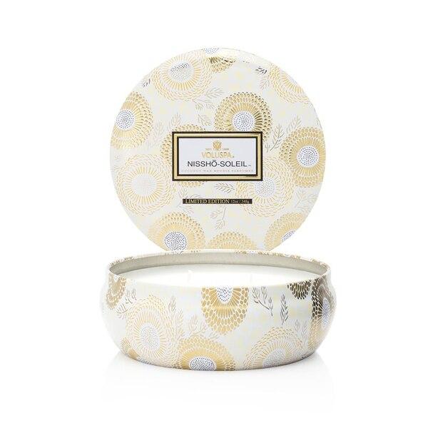 Voluspa® 3-Wick Decorative Tin Candle - Nissho Soleil