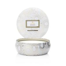 Voluspa® 3-Wick Decorative Tin Candle - Mokara