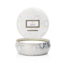 Voluspa® 3-Wick Decorative Tin Candle - Mokara