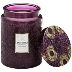 Voluspa® Large Glass Jar Candle - Santiago Huckleberry