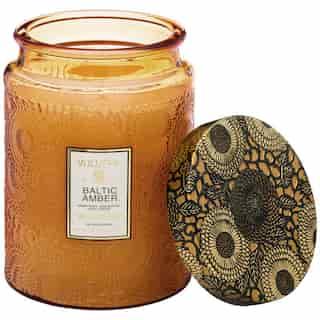 Voluspa® Large Glass Jar Candle - Baltic Amber