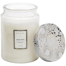 Voluspa® Large Glass Jar Candle - Mokara