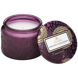 Voluspa® Small Glass Jar Candle - Santiago Huckleberry