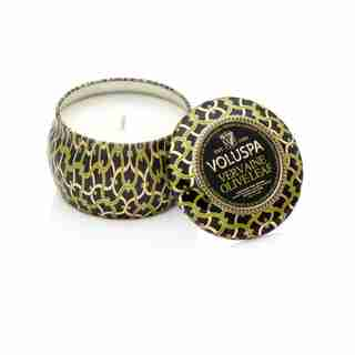 Voluspa® Mini Tin Candle - Vervaine Olive Leaf