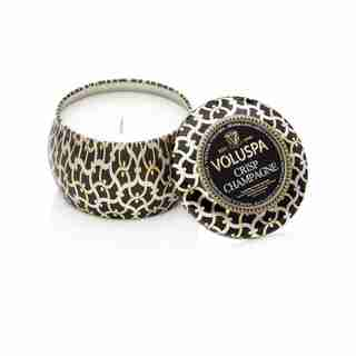 Voluspa® Mini Tin Candle - Crisp Champagne