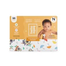 hello bello Club Diaper - Bolts / Animals - Size Newborn