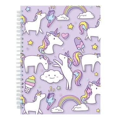Iscream® 3D Journal Unicorn Wishes