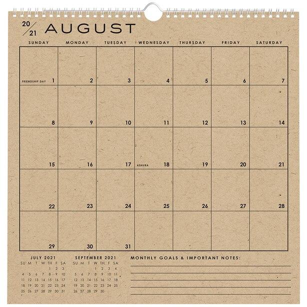 Grille-calendrier classique