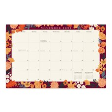 Agenda mensuel botanique