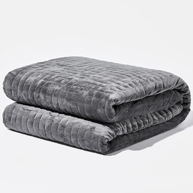 Gravity Weighted Blanket - 25lb, Space Grey