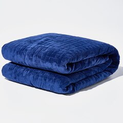 Gravity Weighted Blanket - 20lb, Galaxy Blue