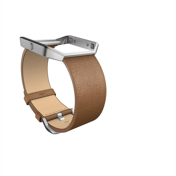 Fitbit Blaze Leather Band - Camel, Small