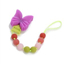 Chewbeads Pacifier Clip - Butterfly