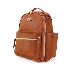 Mini Backpack Diaper Bag - Cognac