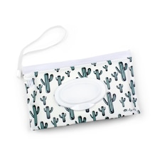 Itzy Ritzy Travel Pouch Wipes Case - Cactus