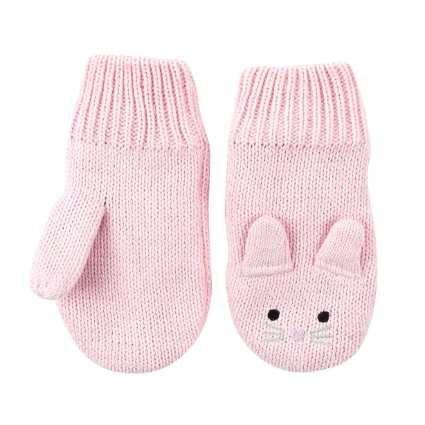 Zoocchini Winter Knit Mittens - Beatrice the Bunny Baby 12-24 months