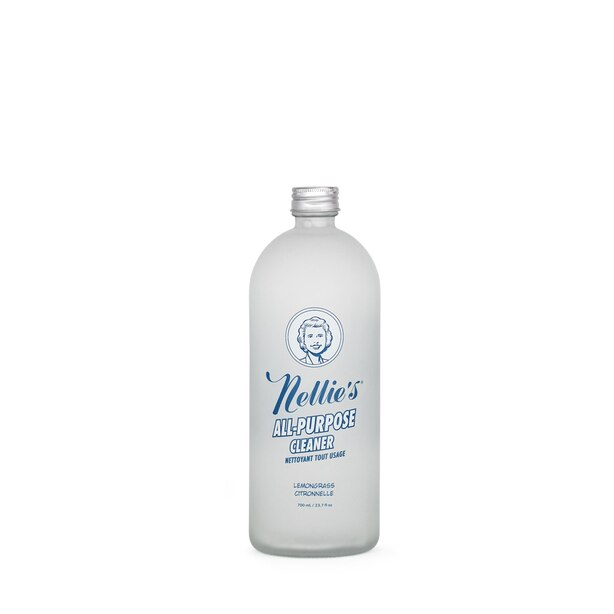 Nellie's All Purpose Cleaner 700 ml Glass Refill Bottle