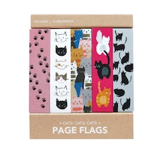 PAGE FLAGS CATS CATS CATS BOOKSMARKS
