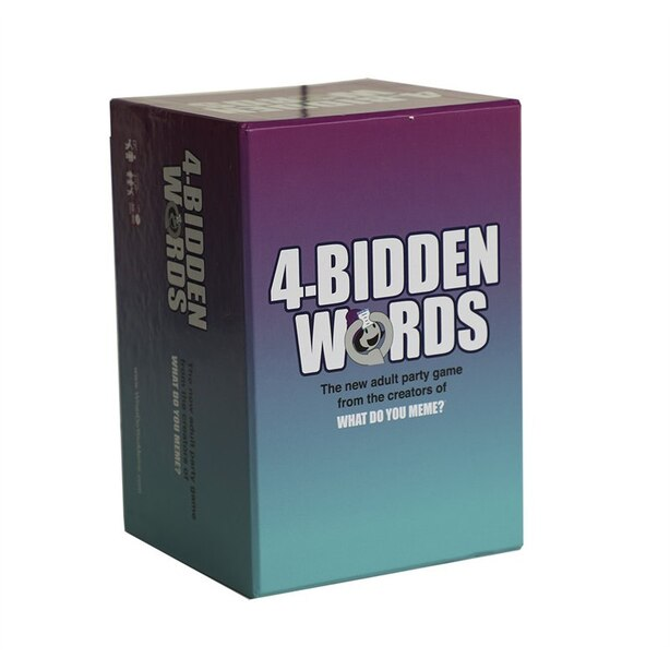 What Do You Meme? 4-Bidden Words Buzz Word Guessing Game