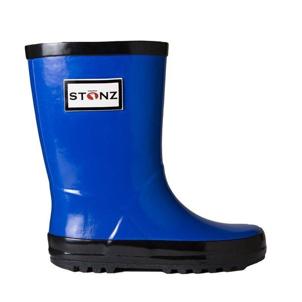 RAIN BOOTS BLUE SIZE 4T